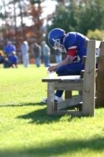 sad football player l